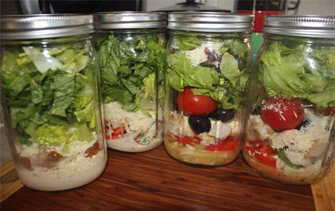 Make yourself a Mason Jar salad!