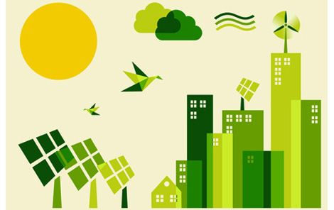 Essay on go green save future